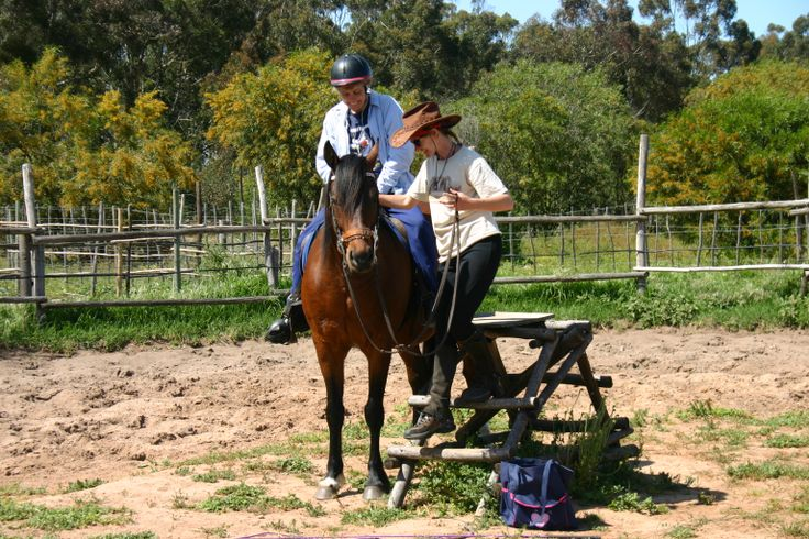Some residents attend Equi therapy. Horses are used in overcoming fears, in developing trust, increasing low muscle tone, developing self-esteem and can assist with emotional problems. http://www.camphill.org.za/therapies