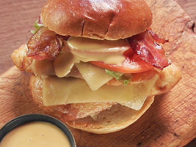 Fried Chicken BLT Melt Recipe : Nancy Fuller : This looks awesome!