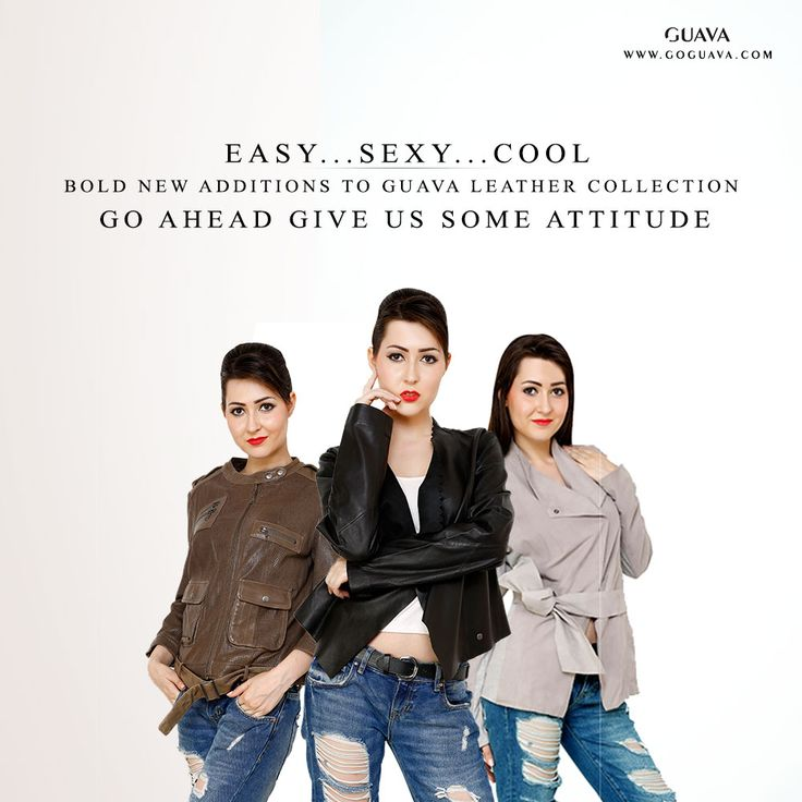 Make Yourself More Trendy with Goguava.  We are offering classy designer Leather Jackets at our Online store.