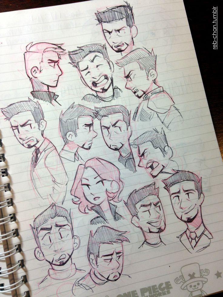 reb-chan: Sketch Dump—Nov. 14 :) I usually get...