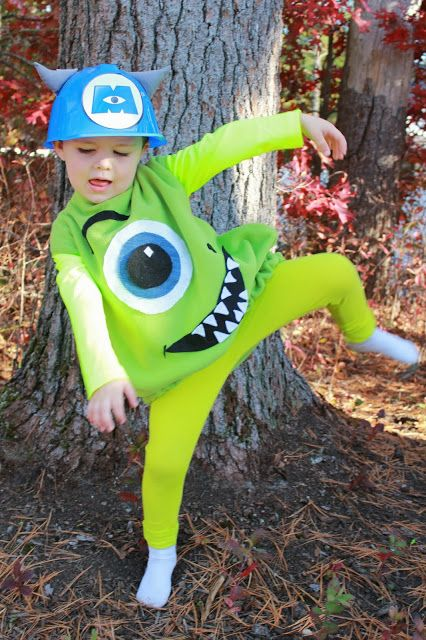 Sulley and Mike Costume Tutorial- Monsters Inc Costumes- Family Costume