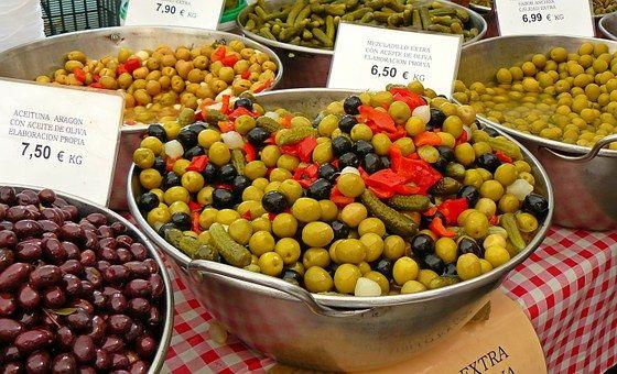 Olivy, Na Trhu, Drupes