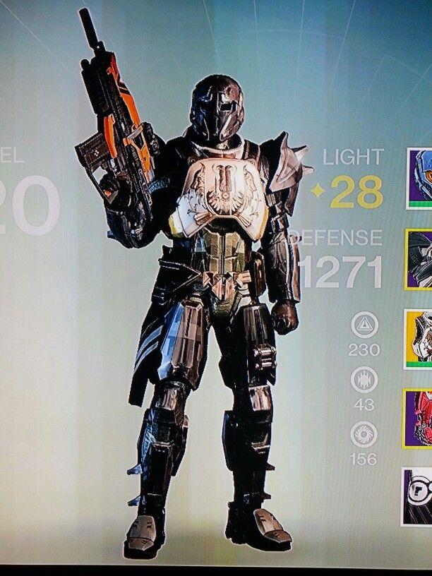 My Titan in Destiny for xbox one