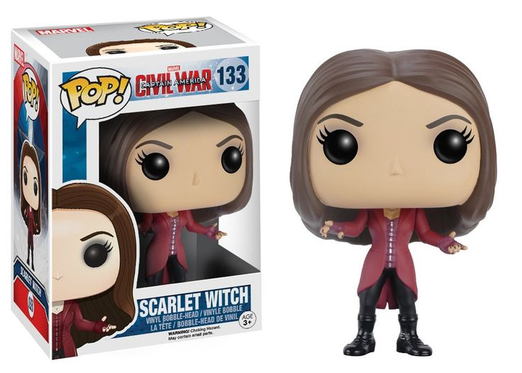 Pop! Marvel: Captain America 3 - Scarlet Witch | Funko