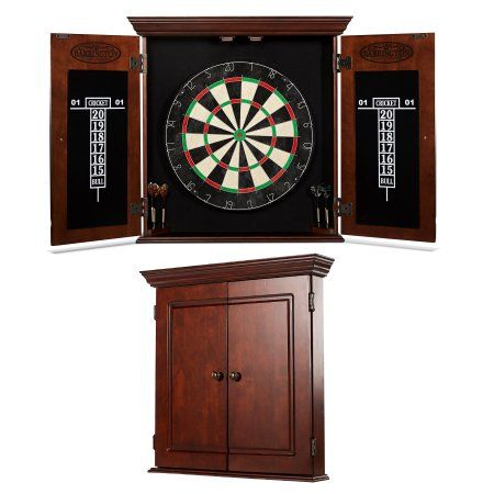 Barrington Chatham Bristle Dartboard and Cabinet Set