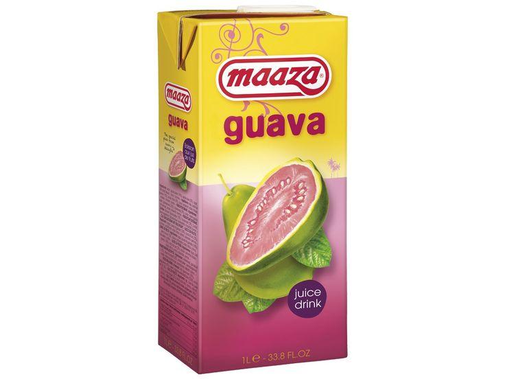 #Guavesap #Maaza is het Indiase woord voor genieten en zo kan de drinkbeleving van deze drank ook het beste omschreven worden. Dit sap bevat geen kunstmatige toevoegingen en is gemaakt van natuurlijk vruchtenmoes.  #AsianFoodLovers