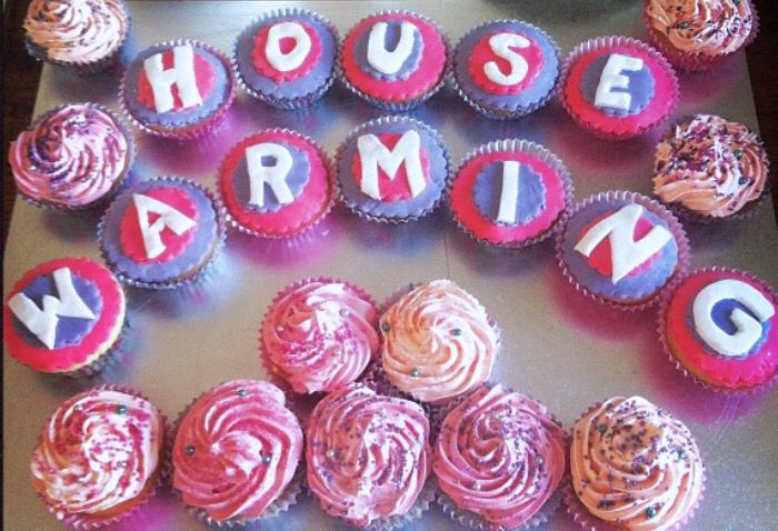 Housewarming cupcakes by @stephabubbles