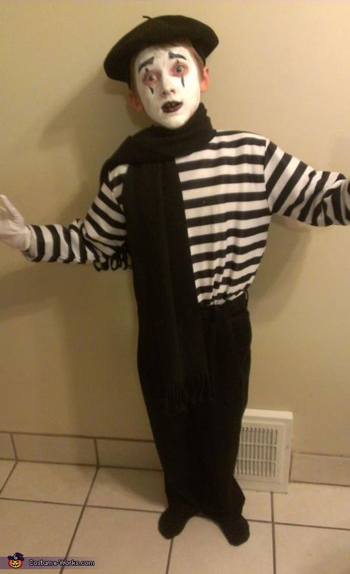 mime halloween costume contest - Mime For Halloween
