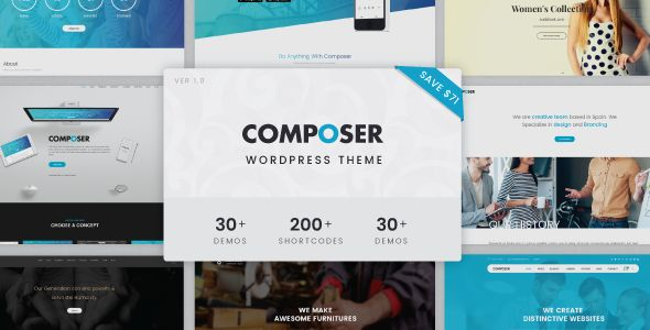 Composer - Responsive Multiconcept Theme