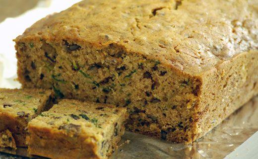 Epicure's Zucchini Cheese Bread
