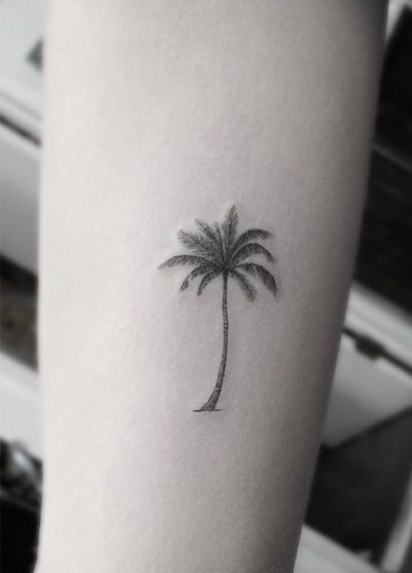 Coconut tree #TattooModels #tattoo                                                                                                                                                     More