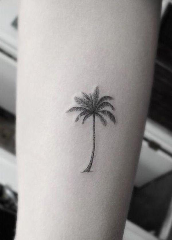 Coconut tree #TattooModels #tattoo