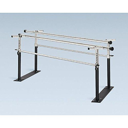Bailey 7' Folding Steel Base Parallel Bars w/ Black Powder Coat Posts  //Price: $ & FREE Shipping //     #sports #sport #active #fit #football #soccer #basketball #ball #gametime   #fun #game #games #crowd #fans #play #playing #player #field #green #grass #score   #goal #action #kick #throw #pass #win #winning