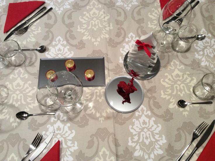 Rosso Natale a tavola! #tavola #misanplace #rosso #natale