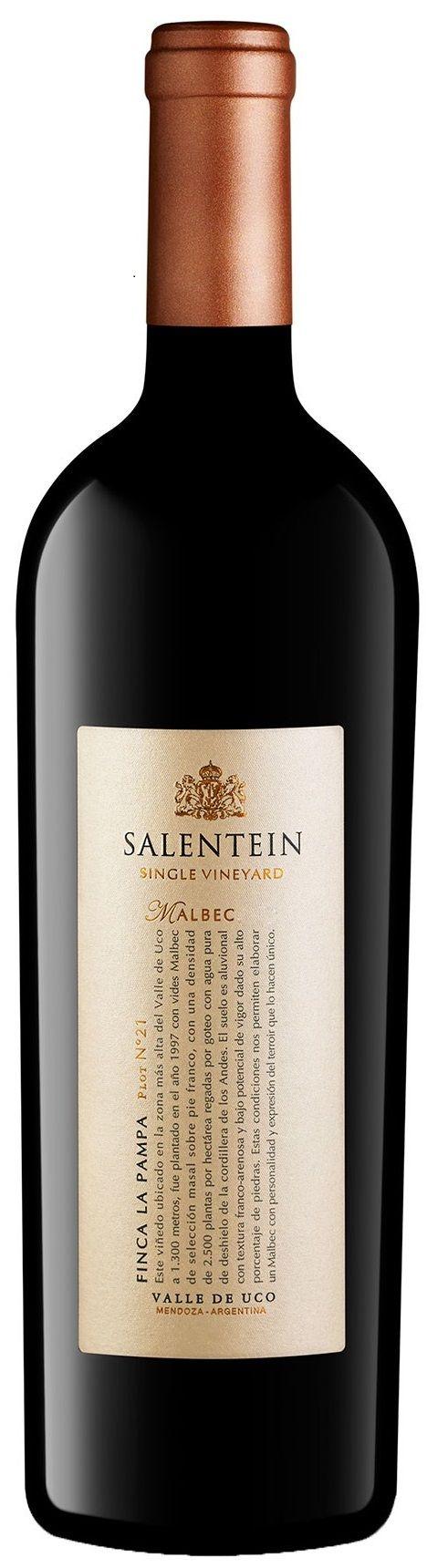 """Salentein Single Vineyard"" Malbec 2010 - Bodega Salentein, Tunuyán, Mendoza---- Terroir: Los Àrboles (Tunuyán)--- Crianza: 16 meses en barricas de roble francés"