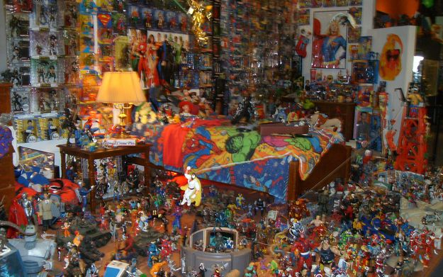 THIS bedroom. | Community Post: The 32 Geekiest Bedrooms Of All Time
