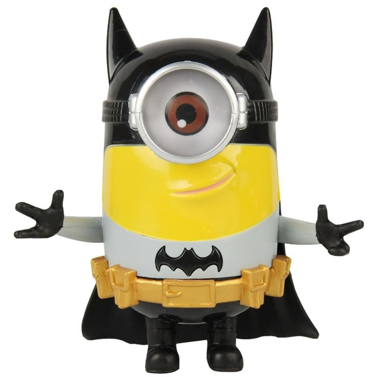 Cartoon Action Figure - Despicable Me - Batman - Minions Model