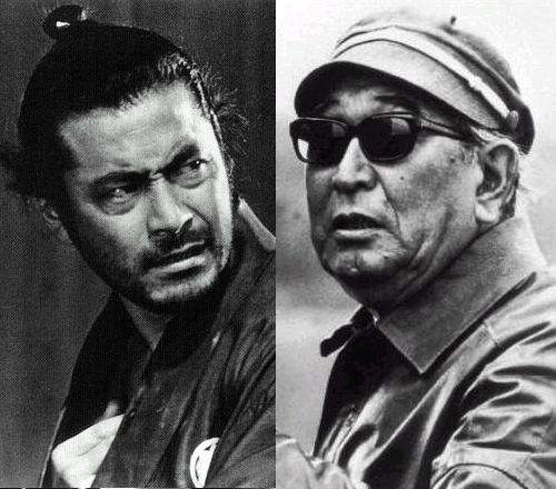 Akira Kurosawa & Toshiro Mifune the great director/favored paramour began here