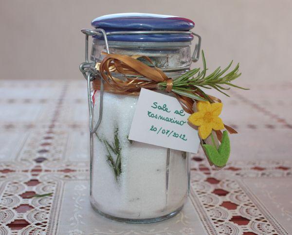 Sale aromatizzato al rosmarino - Rosemary Salt