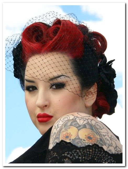 rockabilly hair want this