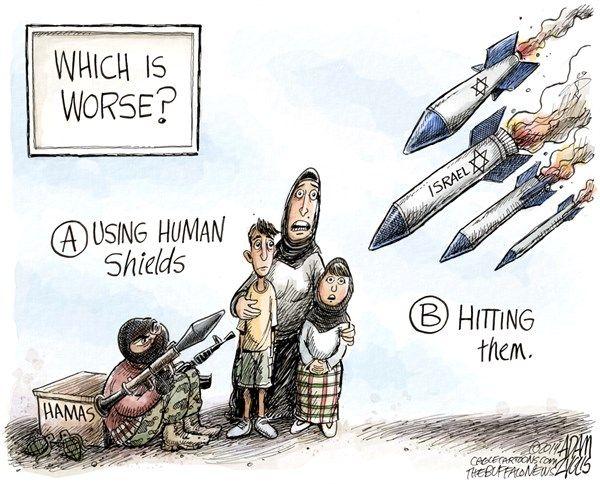 Israeli Palestinian Conflict Adam Zyglis For The Buffalo