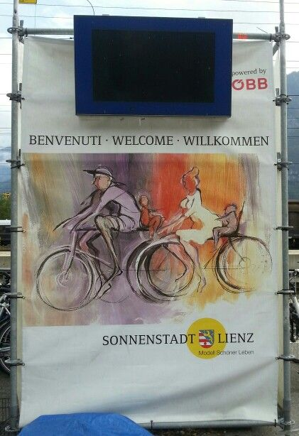 Arrivo a Lienz #openbike #gotolienz