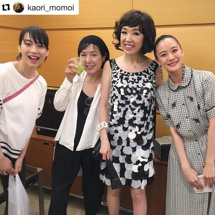 """のん on Instagram: """"#Repost @kaori_momoi (@get_repost) ・・・ #のんちゃん #桃井かおり #ユーミン #蒼井優"""""""