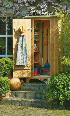 gartenschrank selber bauen garten balkon pinterest garten garten ideen und diy garten. Black Bedroom Furniture Sets. Home Design Ideas