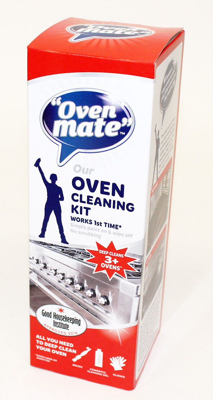 Genuine Oven Mate Gel Cleaning Kit. Suitable for Oven interiors, Trays, Glass, Wire Shelves, Grill Pans, BBQ Racks & Pyrex Dishes. - No scrubbing, just paint on & wipe off. DO NOT USE ON HOT OVENS, ALUMINIUM, BRASS, COPPER, STAINLESS STEEL, TEFLON COATED, PAINTED ENAMEL OR ANODISED, CRACKED, CRAZED OR PAINTED SURFACES. | eBay!
