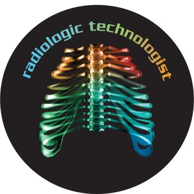 """Radiologic Technologist"" Round Car Magnet"