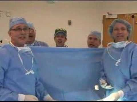 Waking Up Is Hard To Do.  When medical people sing it it means a little more.  Funny! The Music Video from the Laryngospasms.