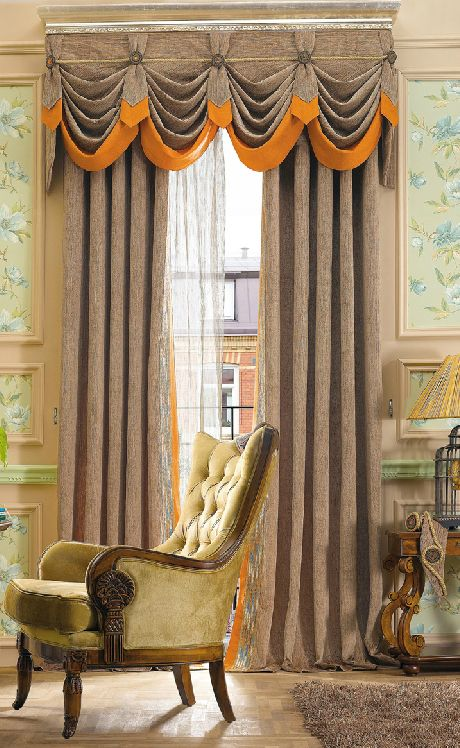 410 best SWAGS images on Pinterest Window coverings, Window - swag curtains for living room
