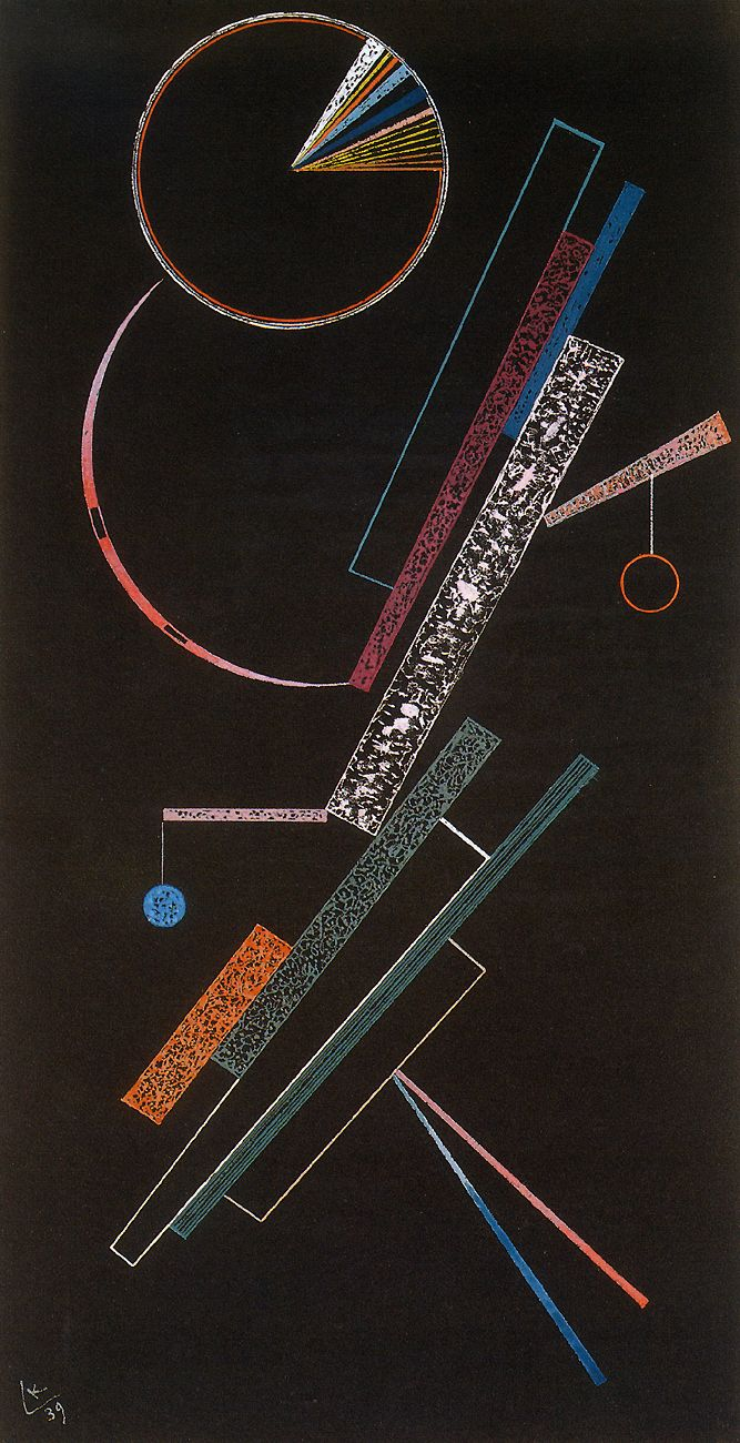 Kandinsky - Supports (Les Appuins), 1939