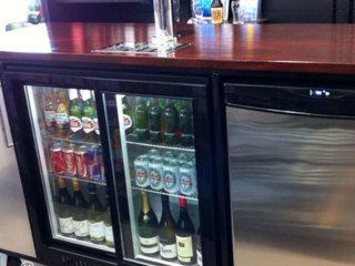 Happybar $250.00  Custom Kiwi Built Mobile Bar for your next event  Its big! – Can hold approx 14 doz and a Keg!  Free delivery and set up with any Marquee Hire  Don't pay expensive bar prices, Provide your own!  HappyBar needs mains power – but we have the leads!