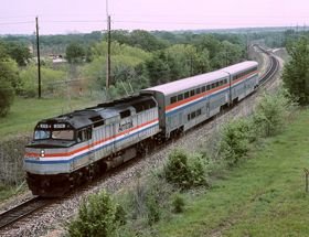Amtrak's Texas Eagle ... one of the longest routes, it makes for a fun 3 days!