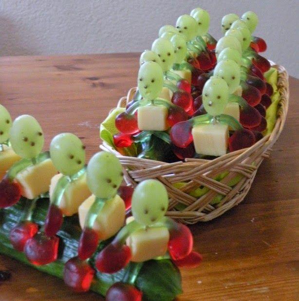 Komkommertreintje - Kindertraktaties