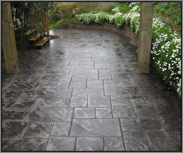 Stamped Concrete Patio Colors