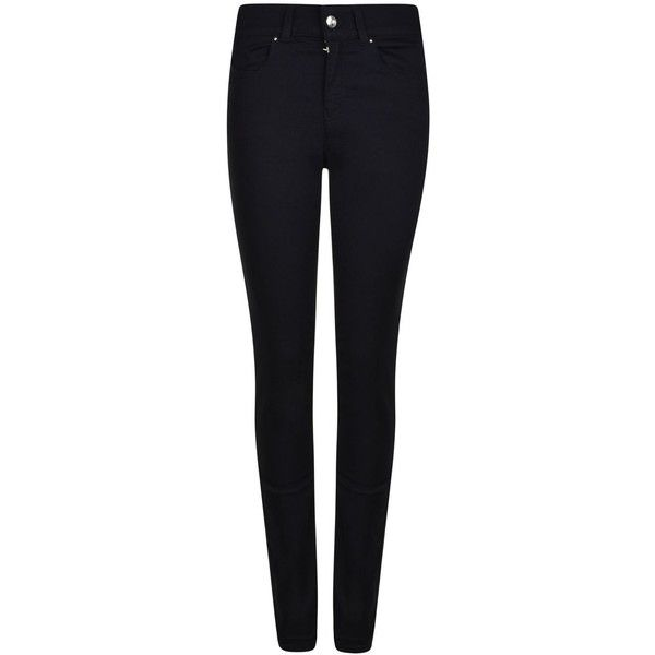 Armani Jeans Dahlia Skinny High Waisted Jeans (£100) ❤ liked on Polyvore featuring jeans, bottoms, skinny jeans, high-waisted skinny jeans, highwaisted jeans, highwaist jeans and slim cut jeans