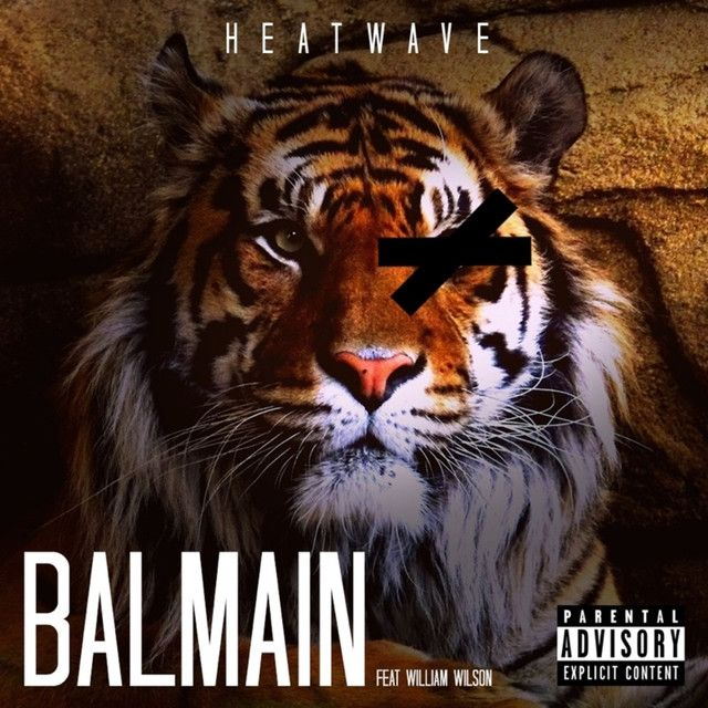 """Balmain"" by Heatwave William Wilson was added to my Black Beats - RnB & Hip Hop Anthems playlist on Spotify"