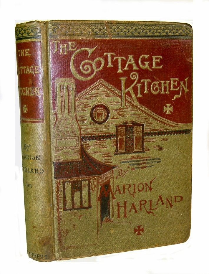 Cottage Kitchen  Victorian Recipes Vintage Marion Harland