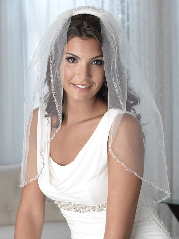 PRODUCTION TIMELINE  VB-5008-EL-IV SHIPPING DATE DATE BEGINS ON 8/4/17. We want our brides to receive their accessories as soon as possible and typically are ready to ship within 1-2 business days. We love this veil and know you will too but need a little extra time for production of the elbow length in ivory. Our ship dates are approximate and on occasion, can experience delays in production. We keep our brides updated in real time on the status of any delays. All of our bridal vei...