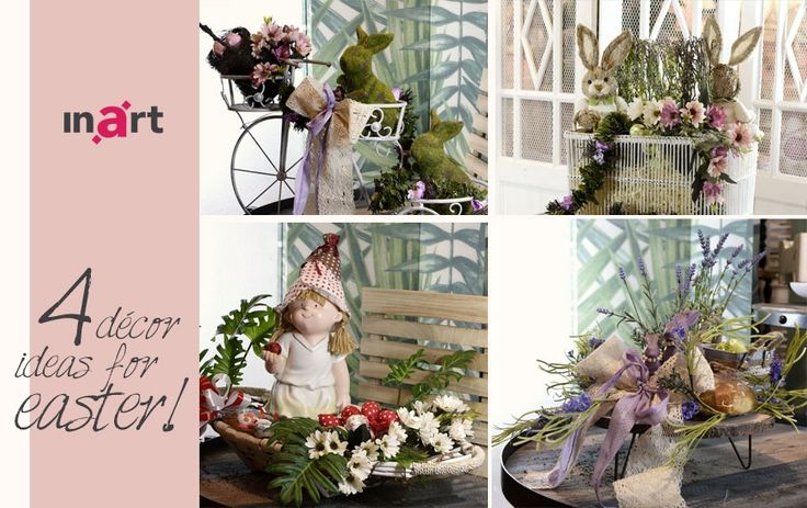 Easter is coming soon! Embrace it with gorgeous ideas for easter baskets, that you will transform your home and office! Read more here : http://www.inart.com/en/blog/4-decor-ideas-for-easter.html