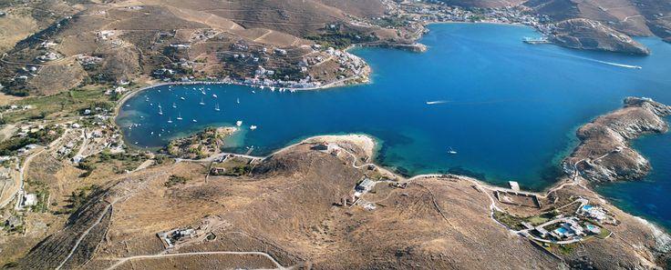 Kea Island in Cyclades, Greece