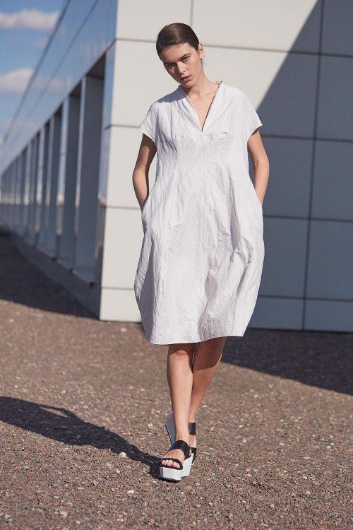 Купить Платье РОМБ среднее лён из коллекции «…И ВХОДИТ ЖЕНЩИНА» от Lesel (Лесель) российский дизайнер одежды