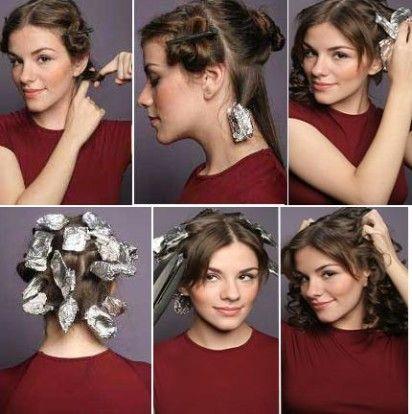 Como Cachear os Cabelos com Papel Alumínio: Passo a Passo