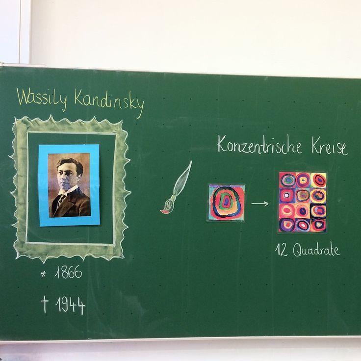 Wassily Kandinsky Nach Einem Kurzen Ausflug Ins Leben Kandinskys Haben Die Ausflug Die Einem Haben Wassily Kandinsky Kandinsky Special Education
