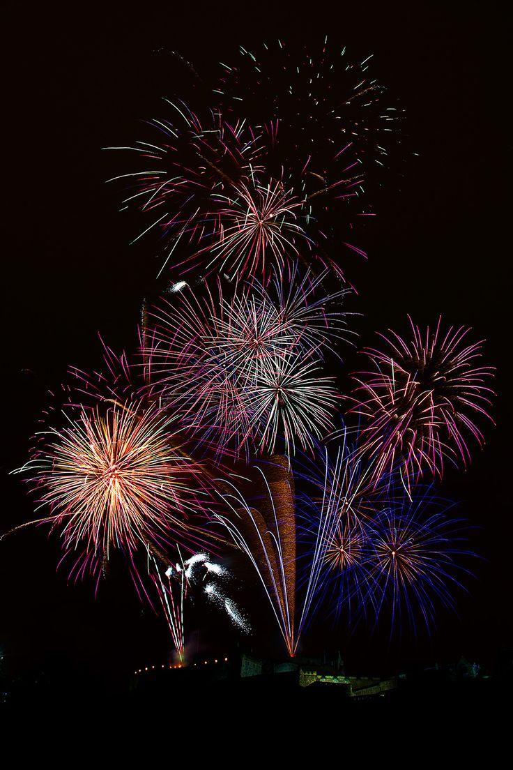 Joe Gilhooley Photography - Edinburgh Tattoo Fireworks 2013