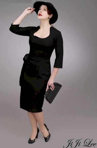 Janice fifties style party dress