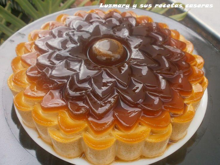 Luzmary y sus recetas caseras: FLAN DE CAFÉ