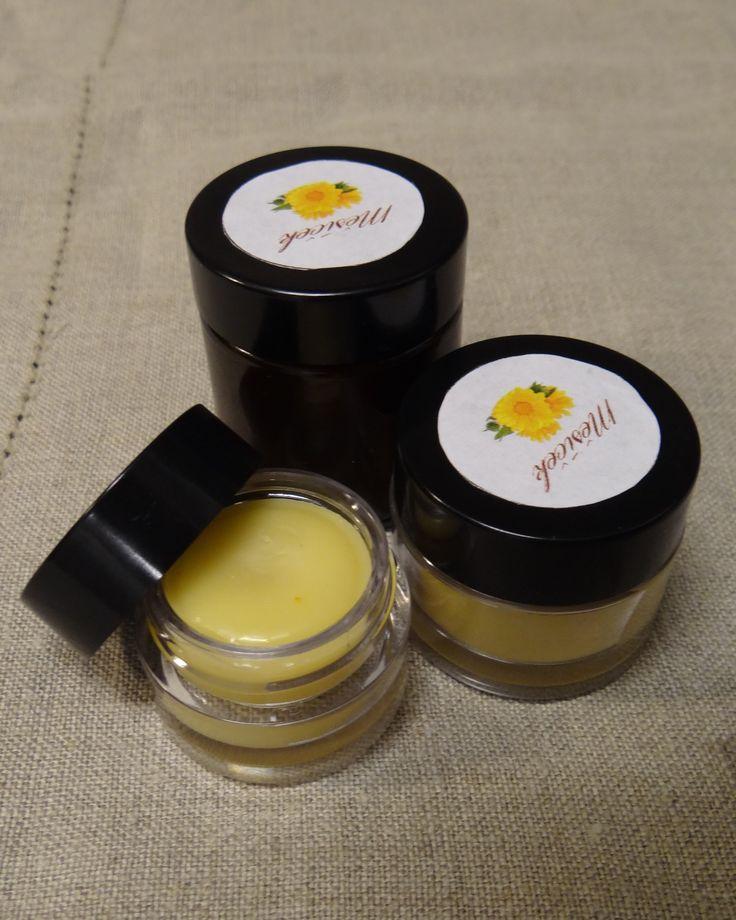 Měsíčkový balzám / mast (měsíčkový olej, včelí vosk)